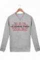 Pull Femme Bar Wars - les derniers verres Coton bio crème chiné