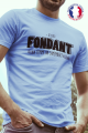 T-shirt bleu Made in France Homme Fondant comme un Camembert
