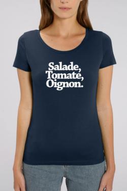 Salade, Tomate, Oignon