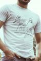 T-shirt blanc Homme J'ai perdu ma dignité